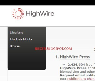 jurnal internasional High-Wire Press